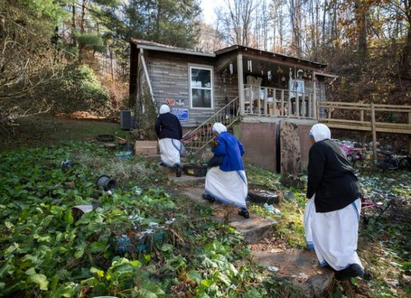 Sisters answer the call of the peripheries In Lexington Missionaries of Charity dedicate their service to the Hispanic community