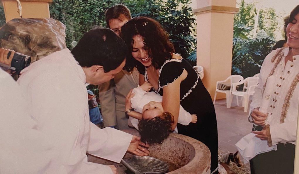 Baptism of Valeria