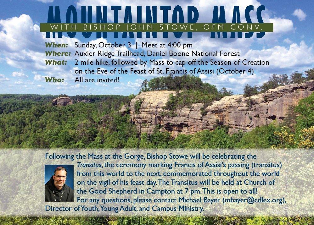 Mountaintop Mass flyer