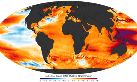NOAA sea level trends